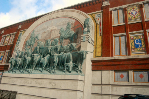 Chisholm Trail Mural - Sundance Square