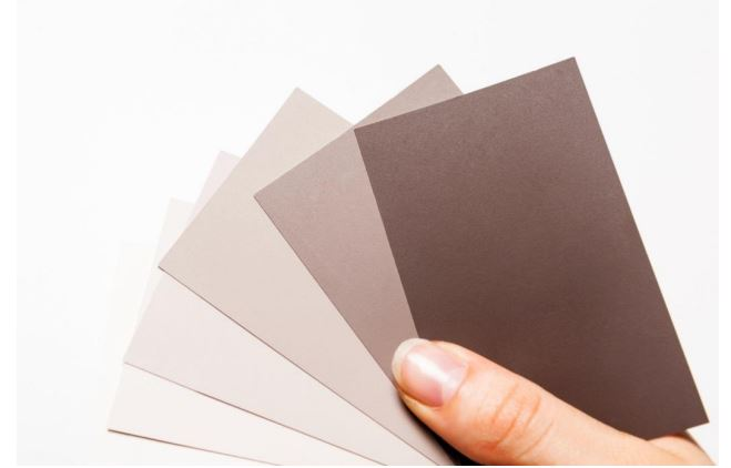 KEIM mineral paint color samples